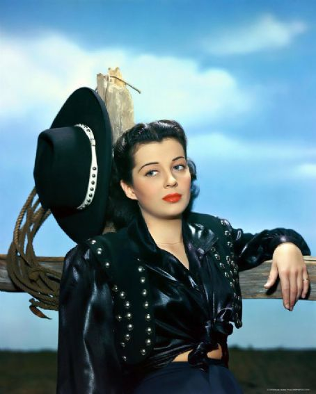1940's style icon Gail Russell