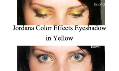 Jordana Color Effects Eyeshadow in Yellow