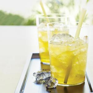 Refreshing Lemongrass Ginger tea