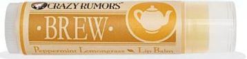 Crazy Rumors Brew Peppermint Lemongrass Lip Balm