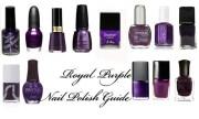 2010 royal purple nail color