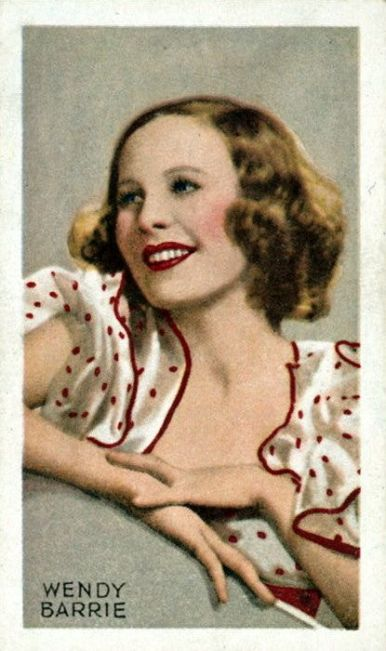 1930's actress Wendy Barrie