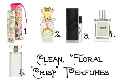 A Guide to Clean Floral Perfumes