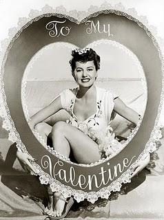 Cyd Charisse Valentine's Day 1945