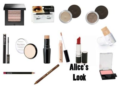 Get the 1930's makeup look of Alice Faye