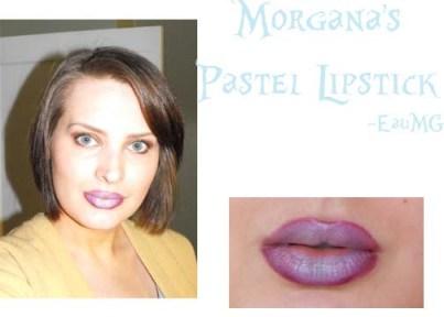 Morgana Cryptoria Icy Mint Pastel Vegan Lipstick