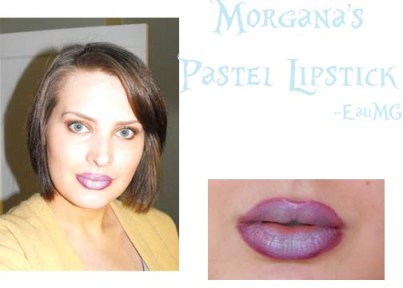 Morgana Cryptoria Icy Mint Pastel Vegan Lipstick