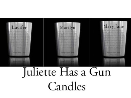 Juliette Has A Gun Candles