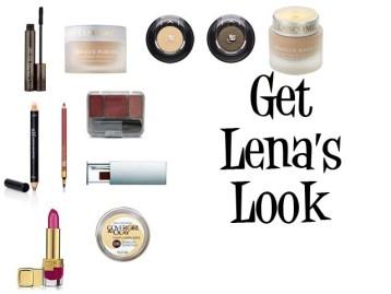 Makeup look of Lena Horne
