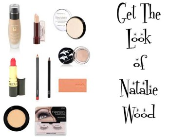 Makeup instruction to get the 1950's makeup look of Natalie Wood