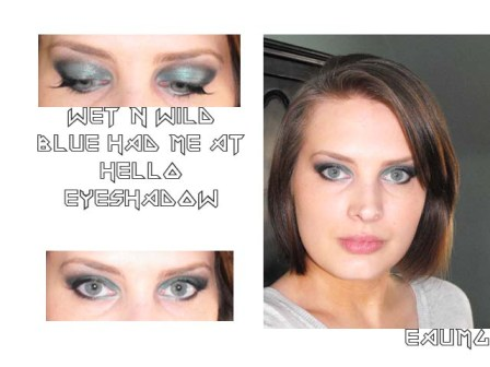 Wet n Wild Blue Collection Look