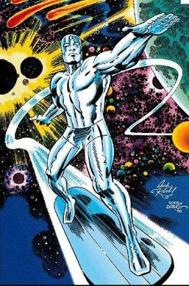 Kirby Silver Surfer