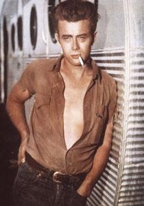 James Dean Smoking