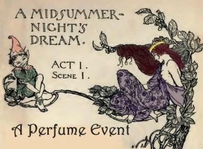 Midsummer Night's Perfume Event