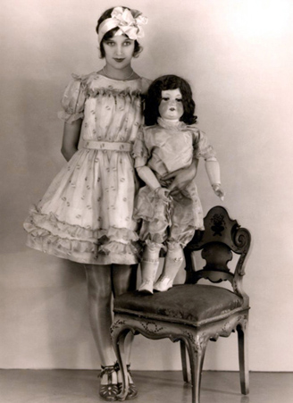 1920's Marceline Day as a doll