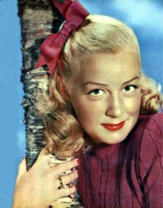 1940's entertainer Betty Hutton