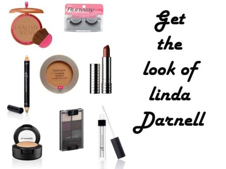 makeup tutorial to get the look of Linda Darnell