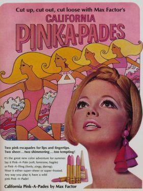 1960's Max Factor ad
