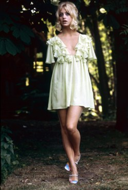 1960's pic of Goldie Hawn