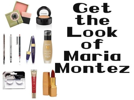 Get the Makeup Look of Maria Montez