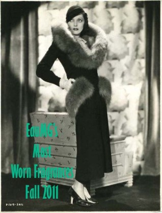 Adrienne Eames in fur