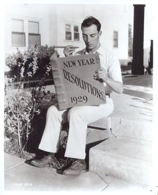 Buster Keaton New Year's
