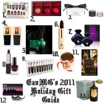 2011 Holiday Gift Guide for goths