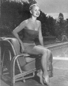 Barbara Payton pool