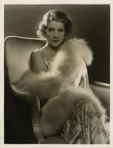 Ruth Sewlyn in fur