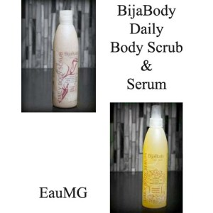 BijaBody Daily Body Scrub and Serum