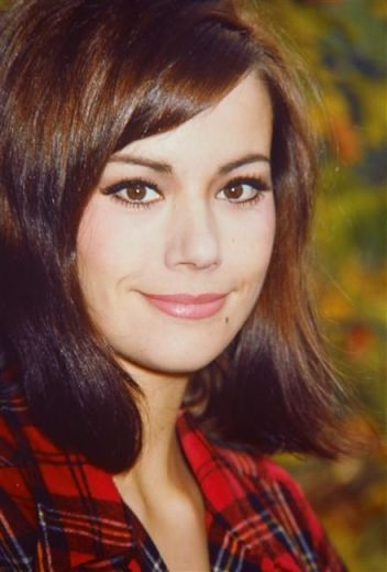 Actress Claudine Auger