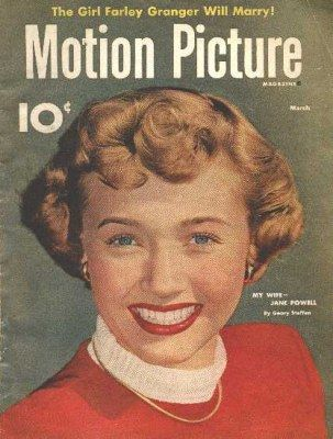 Jane Powell magazine cover