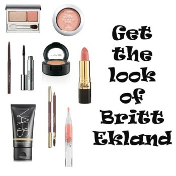 Britt Ekland makeup tutorial