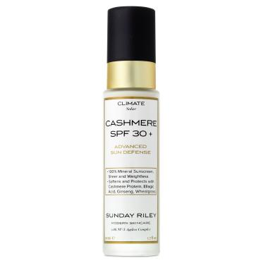 Sunday Riley Cashmere SPF 30 sunscreen