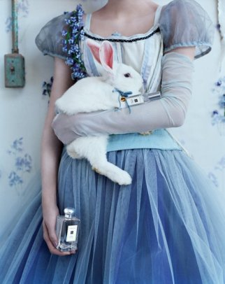 Jo Malone Wild Bluebell perfume ad