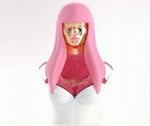 Nicki Minaj perfume bottle