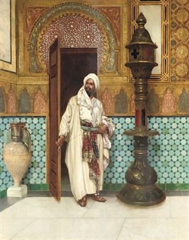"Ernst ""Elegant Chieftan in his palace"""