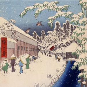 Ukiyo-e Edo Japan