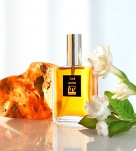 PK Perfumes Gold Leather