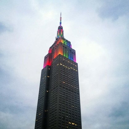 Empire State Building Pride '15