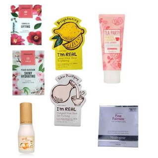 October skincare empties