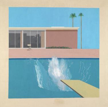 Hockney A Bigger Splash