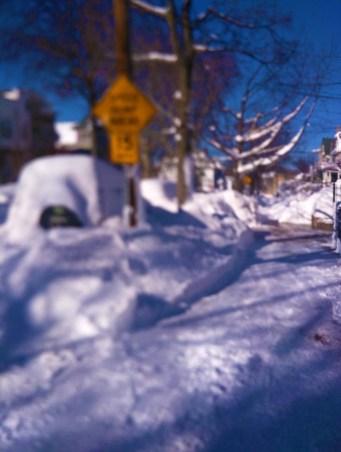 Jersey City Snow
