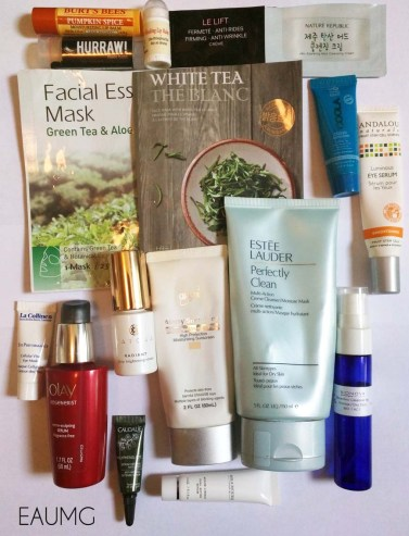 July 2016 Skincare Empties