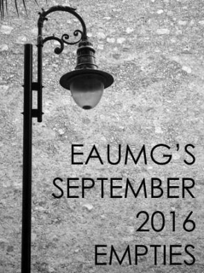 September 2016 Empties