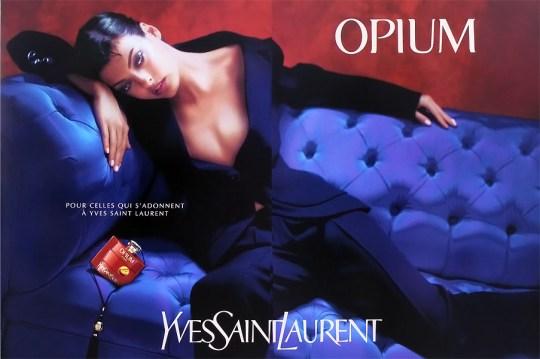 YSL Opium ad