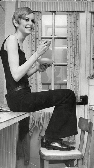 Twiggy and tea