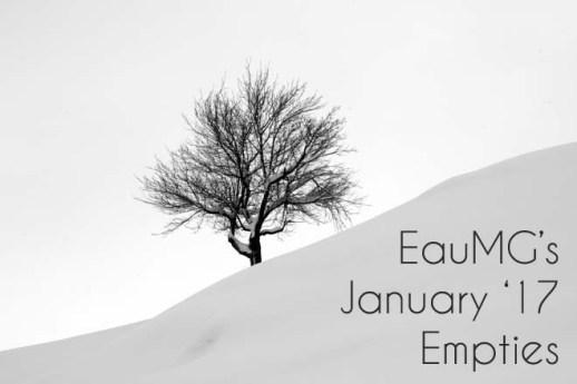 January 2017 Empties