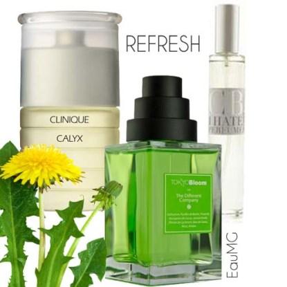 Greenery perfumes