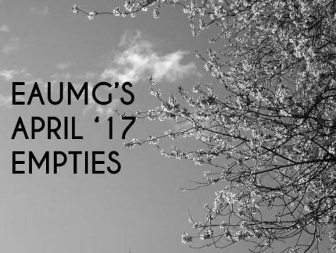 EauMG's April 2017 Empties